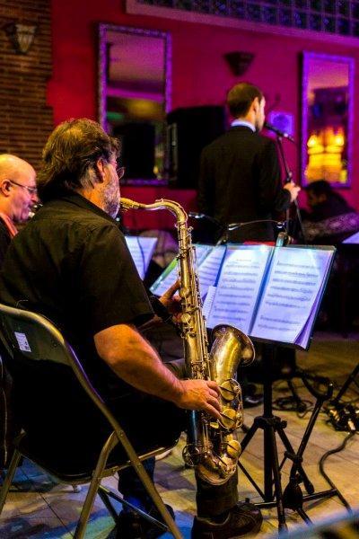 Música de BIg Band en vivo. Jazz y muchos más estilos