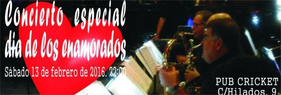 Concierto Big Band especial dia de los enamorados