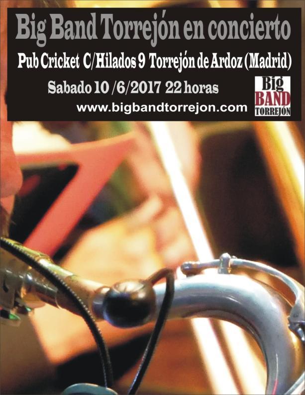 big band torrejon en concierto