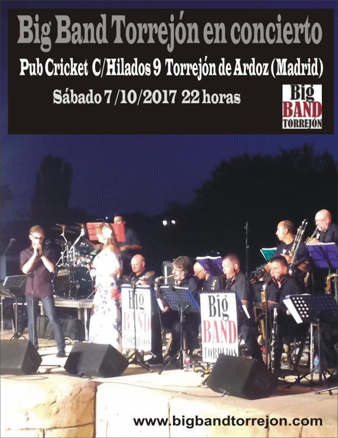 concierto pub cricket 20171007
